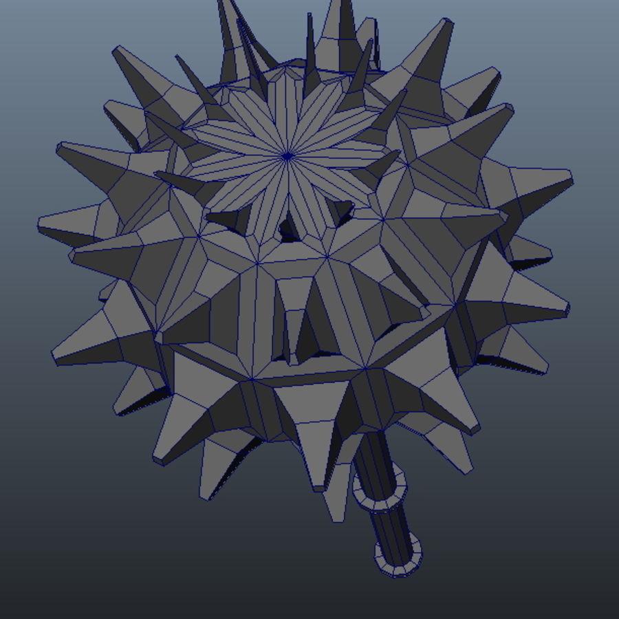 古代武器_01 royalty-free 3d model - Preview no. 2