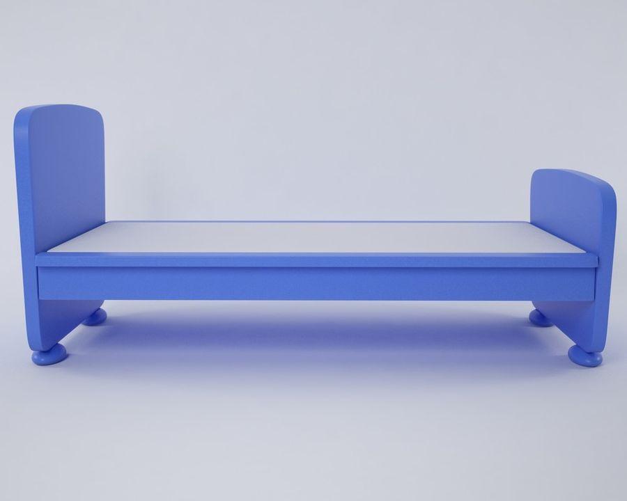 Letto Mammut Ikea.Mammut Bed 3d Model 5 Obj Max Fbx Free3d