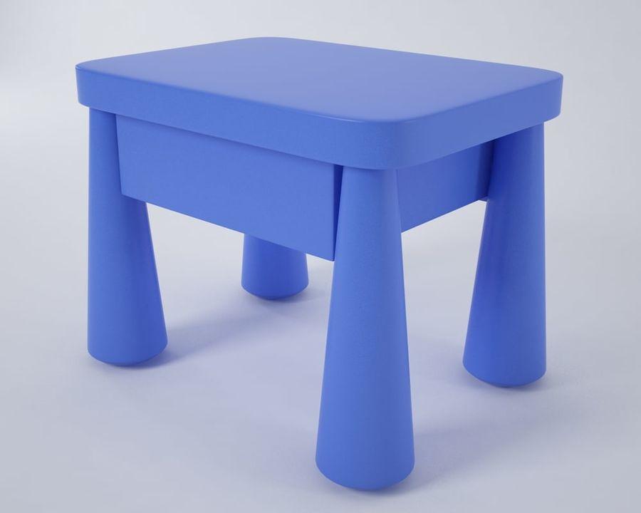 Comodino Ikea Mammut.Mammut Comodino Modello 3d 5 Obj Max Fbx Free3d