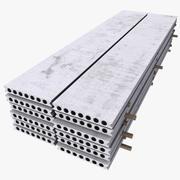 Concrete Plates 3d model