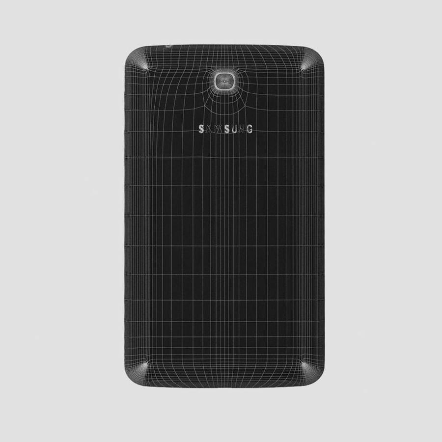 Samsung Galaxy Tab 3 royalty-free 3d model - Preview no. 12