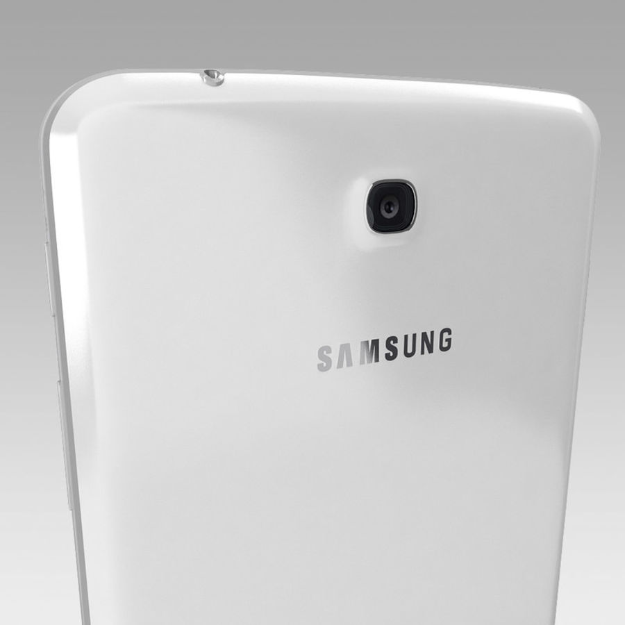Samsung Galaxy Tab 3 royalty-free 3d model - Preview no. 8