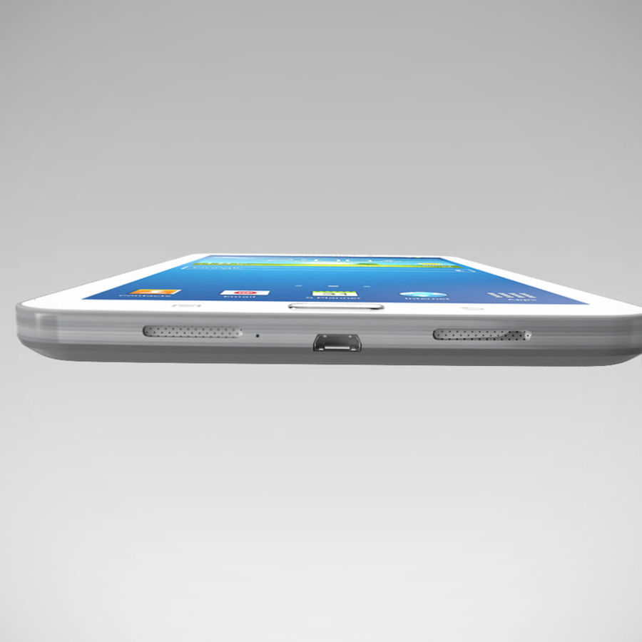 Samsung Galaxy Tab 3 royalty-free 3d model - Preview no. 11