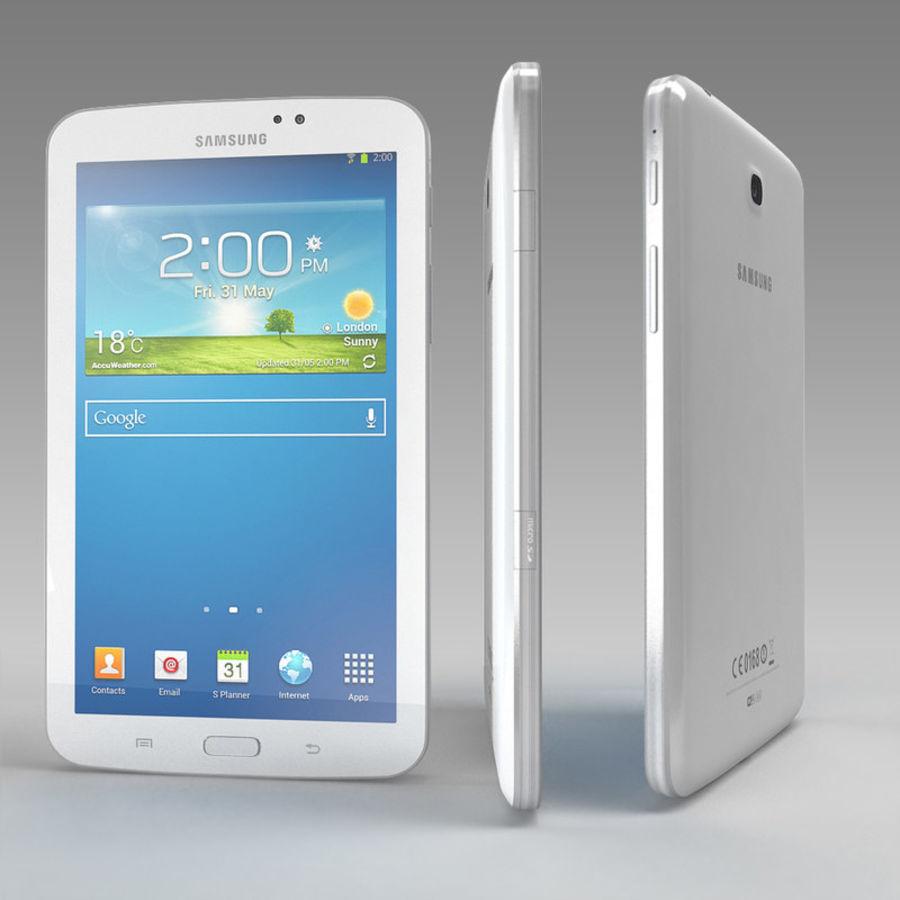 Samsung Galaxy Tab 3 royalty-free 3d model - Preview no. 7