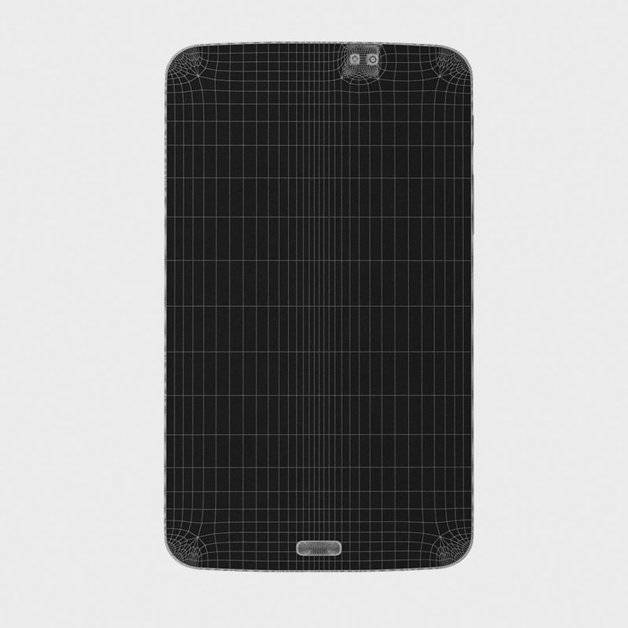 Samsung Galaxy Tab 3 royalty-free 3d model - Preview no. 13
