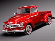 Chevrolet 3100 Pickup 1954 3d model