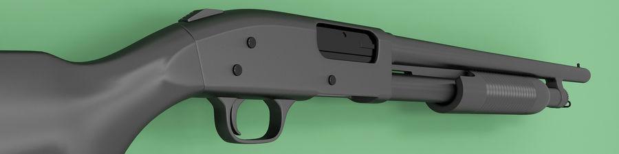 Shotgun royalty-free 3d model - Preview no. 4