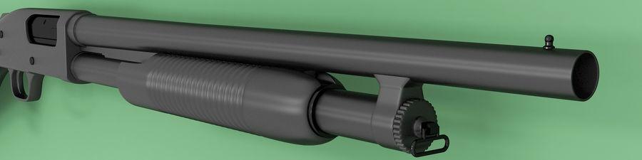 Shotgun royalty-free 3d model - Preview no. 5
