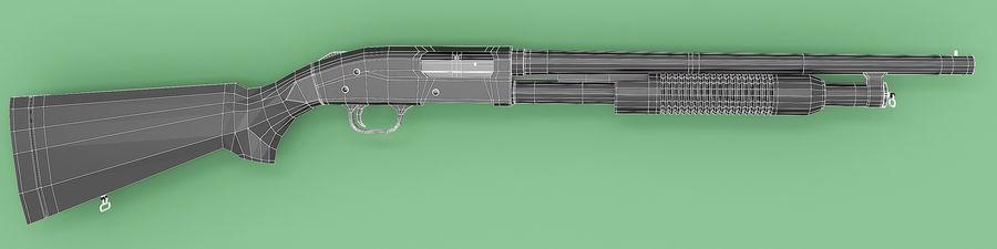 Shotgun royalty-free 3d model - Preview no. 6