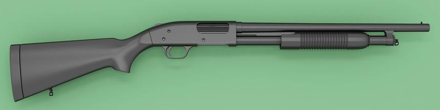Shotgun royalty-free 3d model - Preview no. 1