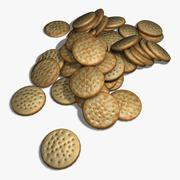 Cheese Cracker 3d model