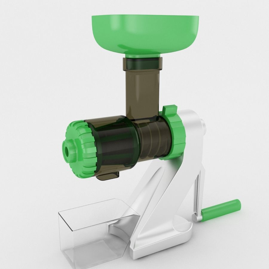 Manual Hand Juicer royalty-free 3d model - Preview no. 1