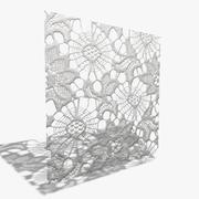 Lace (seamless) 3d model