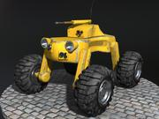 Drone vehicle 3d model
