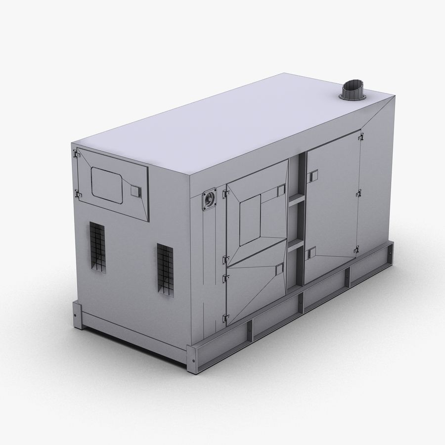 Generator Red royalty-free 3d model - Preview no. 14