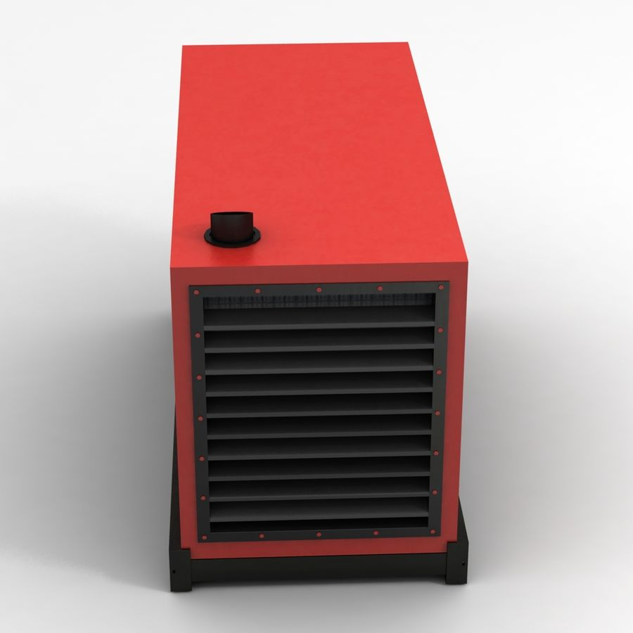 Generator Red royalty-free 3d model - Preview no. 3
