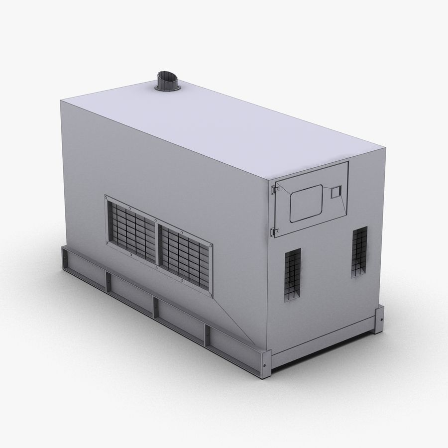 Generator Red royalty-free 3d model - Preview no. 16
