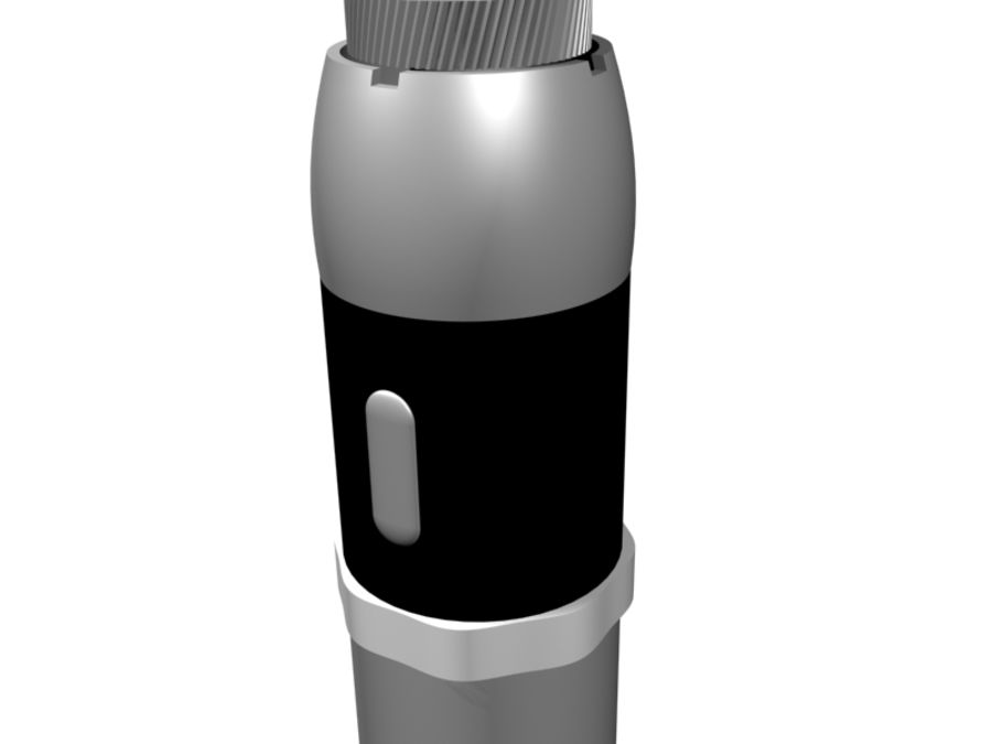 eVic Electronic Cigarette royalty-free 3d model - Preview no. 3