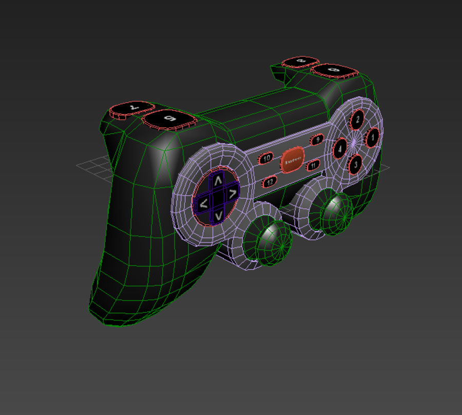 Generic Joystick royalty-free 3d model - Preview no. 8