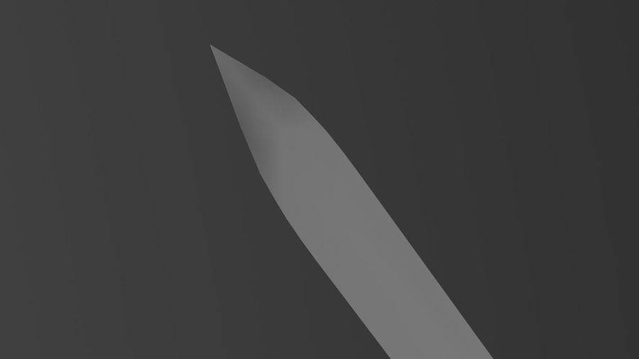 Gizli bıçak royalty-free 3d model - Preview no. 12