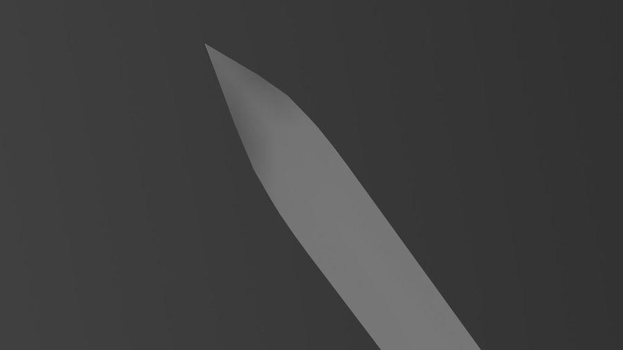 Gizli bıçak royalty-free 3d model - Preview no. 11