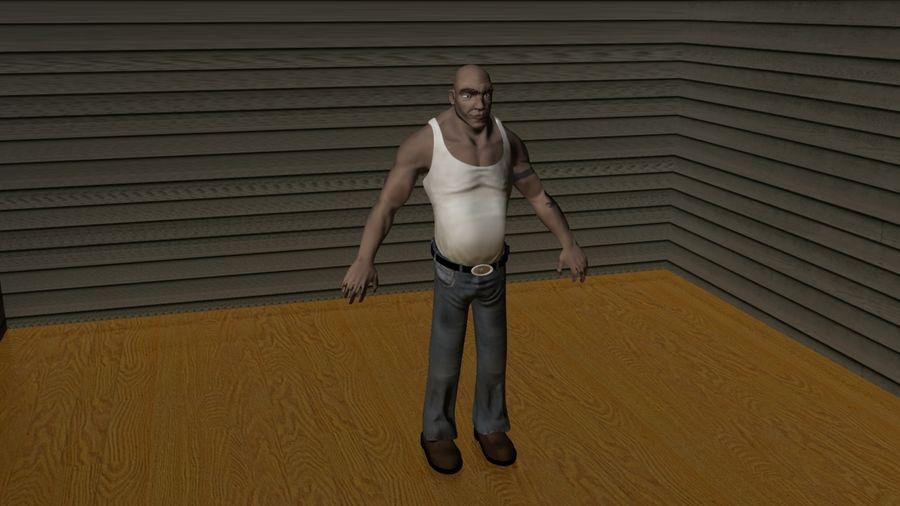 Male Character Man Biker 3D Model $1 -  ma  fbx  obj - Free3D
