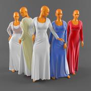 Casamento vestido-2 3d model