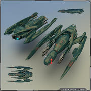 无人机 3d model