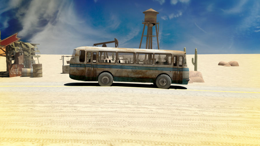 ALTER BUS royalty-free 3d model - Preview no. 4