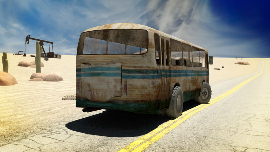 ALTER BUS royalty-free 3d model - Preview no. 2