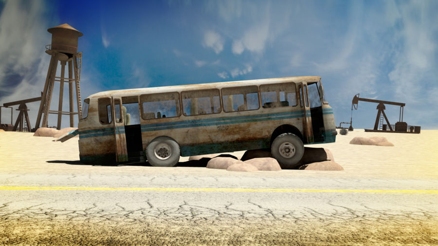 ALTER BUS royalty-free 3d model - Preview no. 7