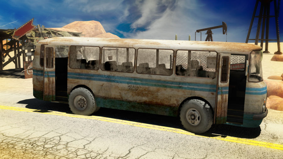 ALTER BUS royalty-free 3d model - Preview no. 1