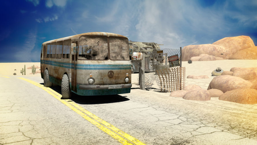 ALTER BUS royalty-free 3d model - Preview no. 3