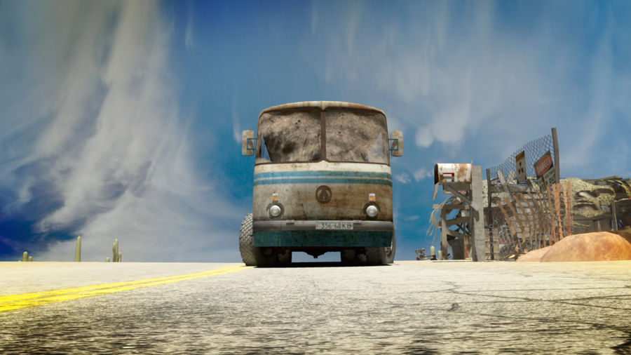 ALTER BUS royalty-free 3d model - Preview no. 5