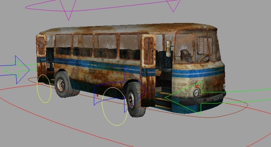 ALTER BUS royalty-free 3d model - Preview no. 9
