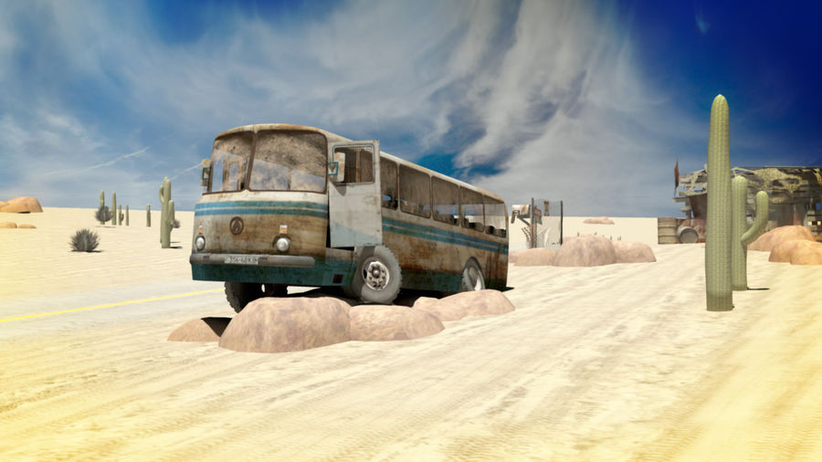 ALTER BUS royalty-free 3d model - Preview no. 8
