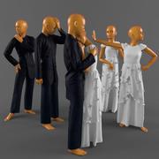 Veled giysisi 3d model
