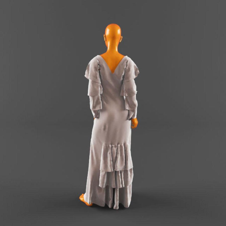 웨딩 드레스 -3 royalty-free 3d model - Preview no. 9