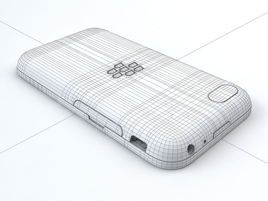 BlackBerry Q5 royalty-free 3d model - Preview no. 24