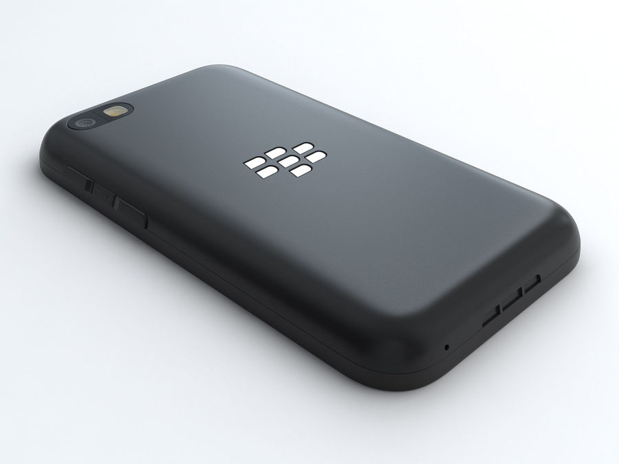 BlackBerry Q5 royalty-free 3d model - Preview no. 4
