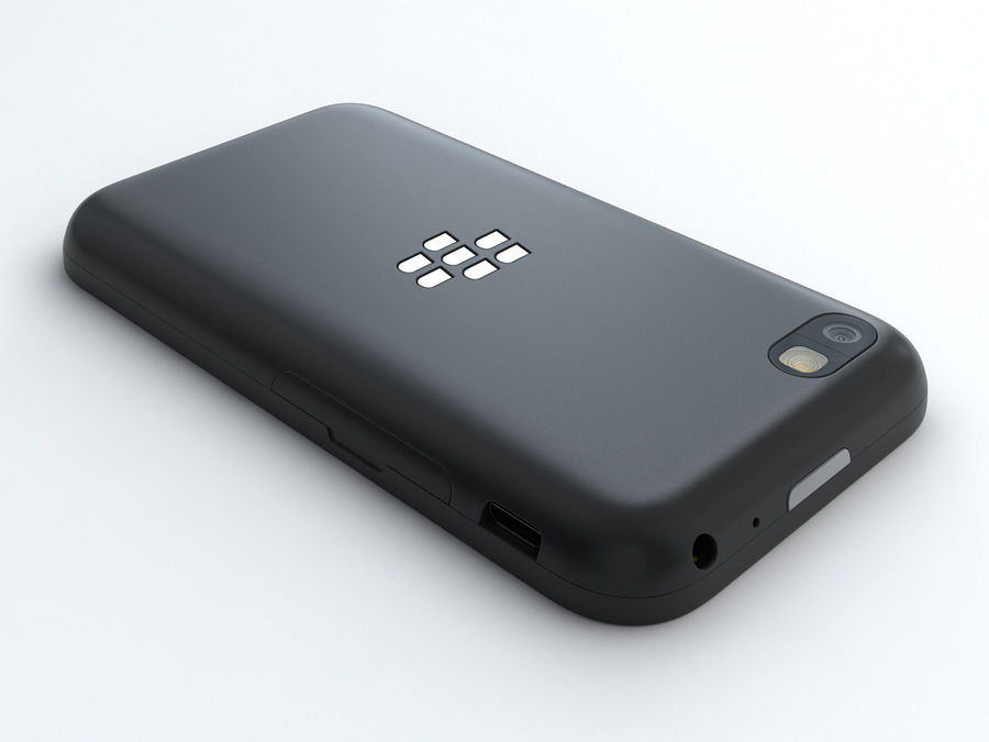 BlackBerry Q5 royalty-free 3d model - Preview no. 3