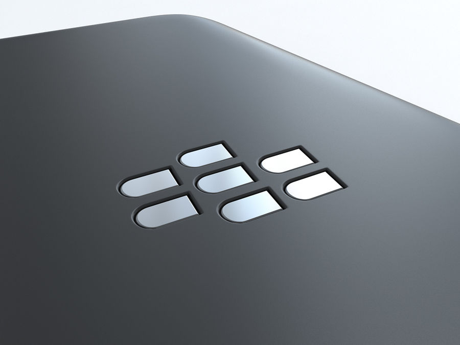 BlackBerry Q5 royalty-free 3d model - Preview no. 18