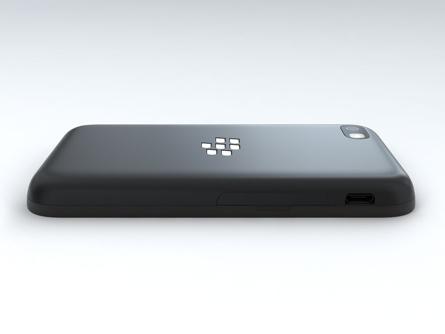 BlackBerry Q5 royalty-free 3d model - Preview no. 10
