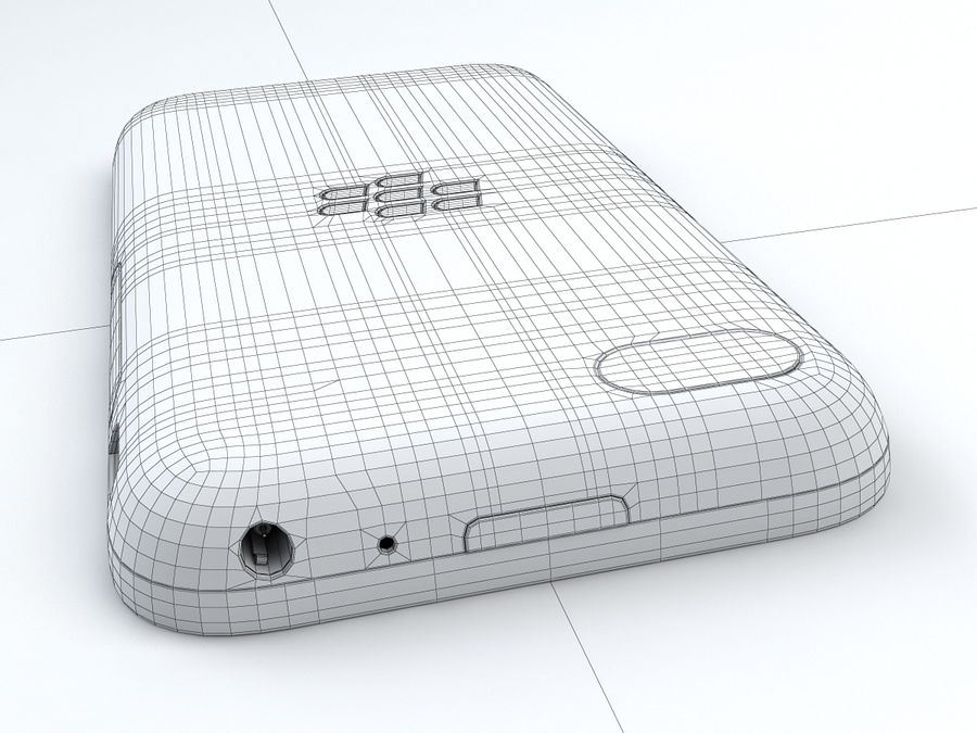 BlackBerry Q5 royalty-free 3d model - Preview no. 26