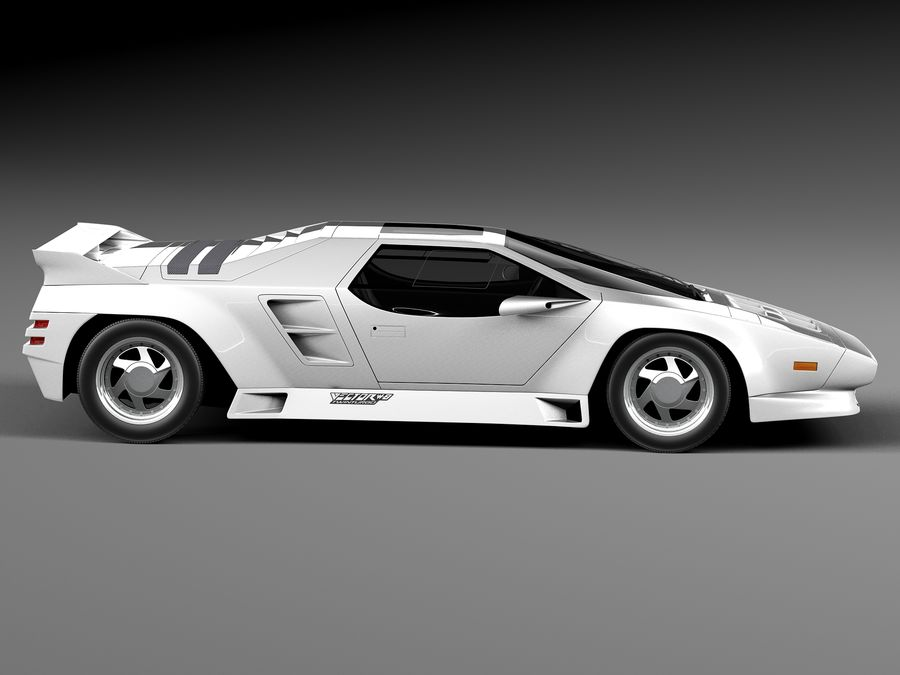 Vector W8 1990–1992 royalty-free 3d model - Preview no. 7