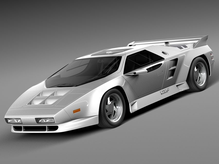 Vector W8 1990–1992 royalty-free 3d model - Preview no. 1