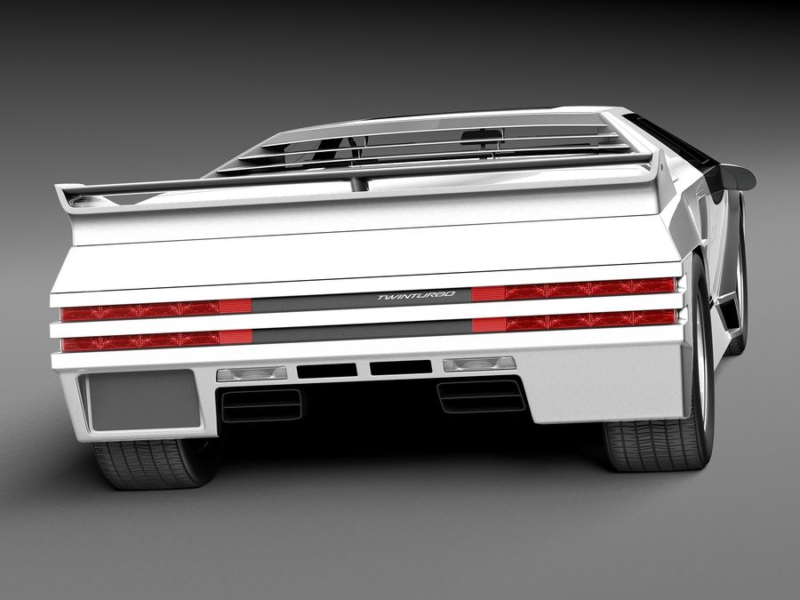 Vector W8 1990–1992 royalty-free 3d model - Preview no. 6