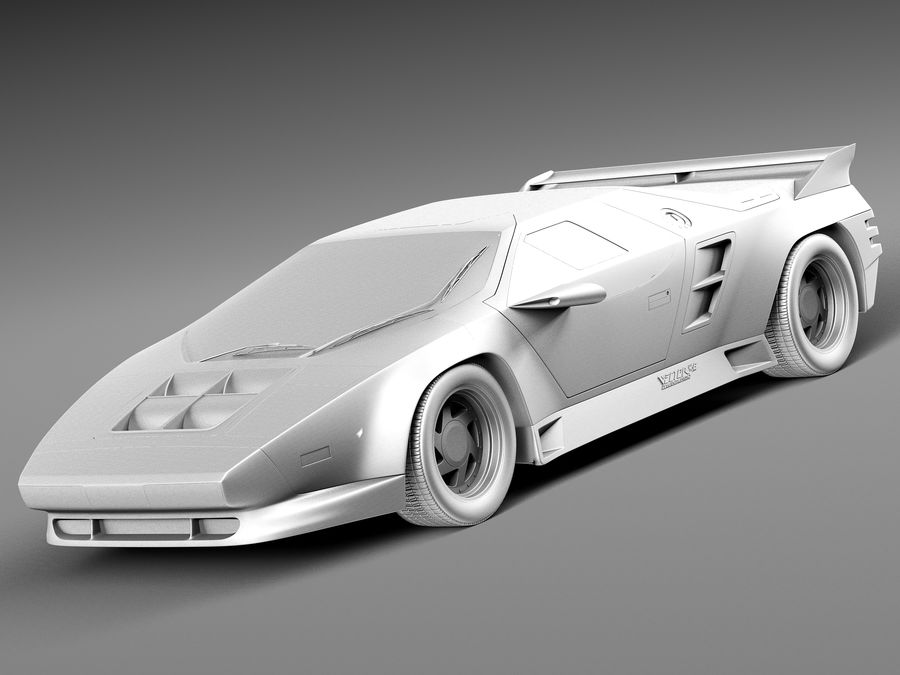 Vector W8 1990–1992 royalty-free 3d model - Preview no. 9