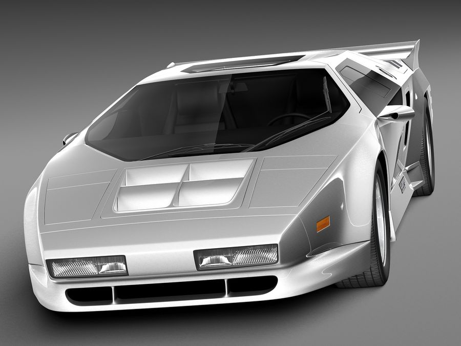 Vector W8 1990–1992 royalty-free 3d model - Preview no. 2