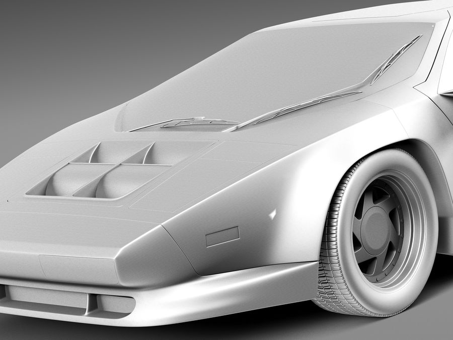Vector W8 1990–1992 royalty-free 3d model - Preview no. 10